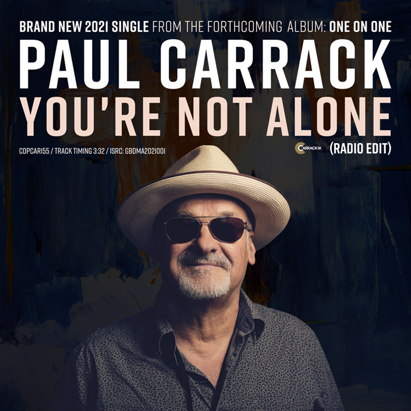 Paul Carrack: You're Not Alone